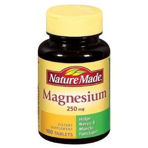 네츄럴메이드/마그네슘/Nature Made Magnesium, 250mg, 100 ea Tablets